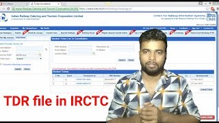 🚂How to file TDR for confrimed tickets after chart prepared || TDR file full proses