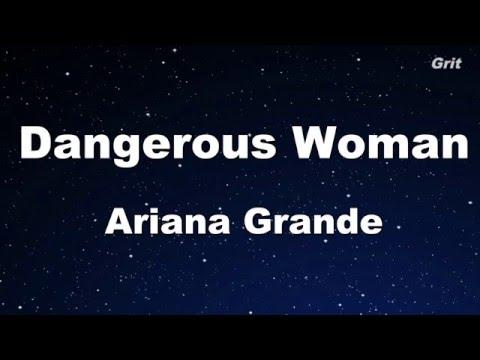 Dangerous Woman - Ariana Grande Karaoke 【With Guide Melody】Instrumental
