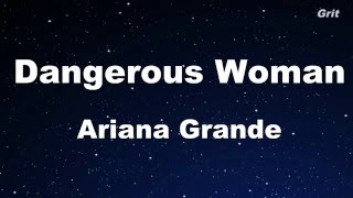 Dangerous Woman - Ariana Grande Karaoke 【With Guide Melody】Instrumental