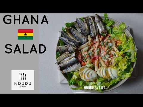 TASTIEST GHANAIAN SALAD RECIPE EVER