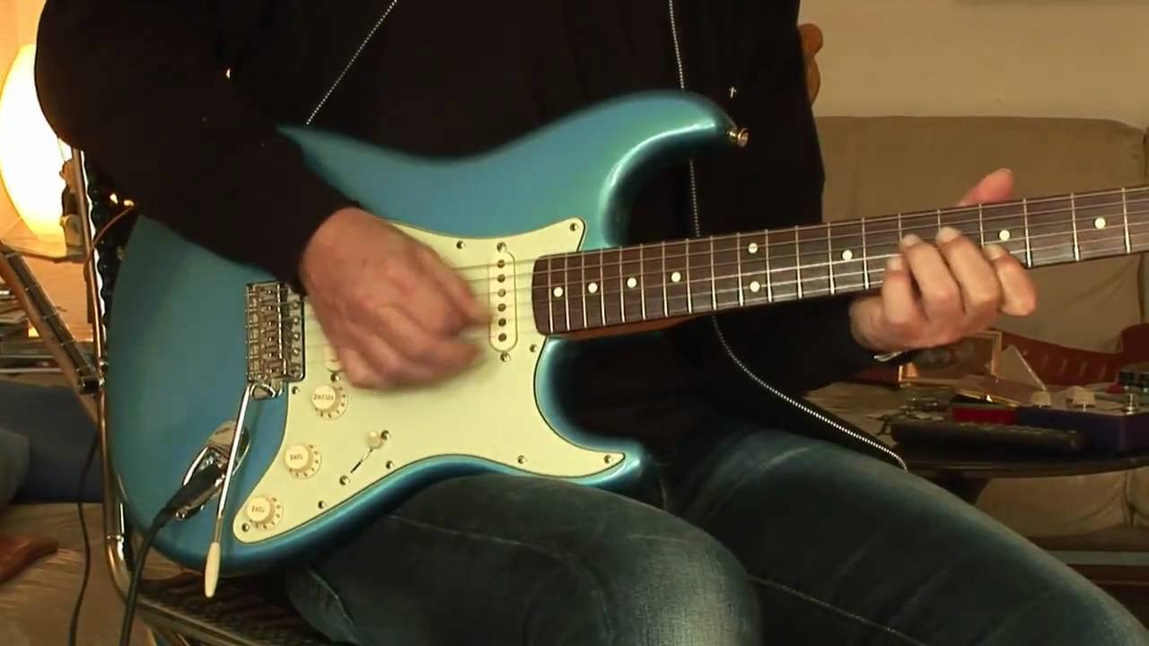 Fender Classic Strat With Texas Special Pickups Youtube