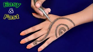 Easy Mehndi Designs For Beginners Step by Step 2018 | Mehndi Design For Hand