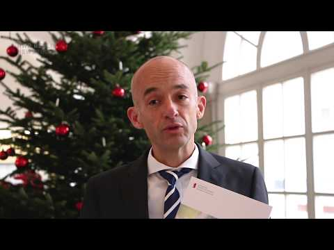 Christmas speech by the President of the HWR Berlin