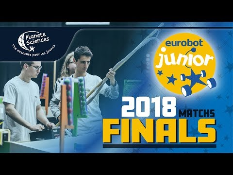 Eurobot Junior 2018 - Finals