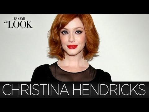 Mad Men's Christina Hendricks Talks Vintage Clothing | Harper's Bazaar The Look