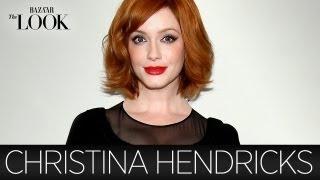 Mad Men's Christina Hendricks Talks Vintage Clothing | Harper's Bazaar The Look