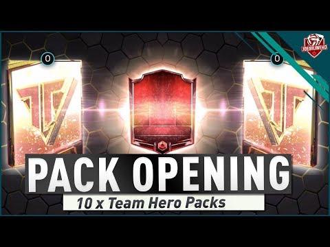 FIFA MOBILE 18 S2 TEAM HERO PACK OPENING | ELITE PULLS! | #FIFAMOBILE SEASON 2 TEAM HERO ADVICE