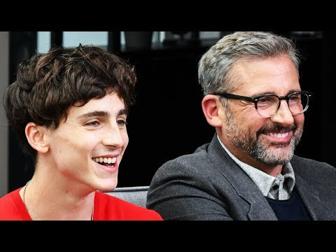 Timothée Chalamet Felt Protected Acting with Steve Carell in Beautiful Boy