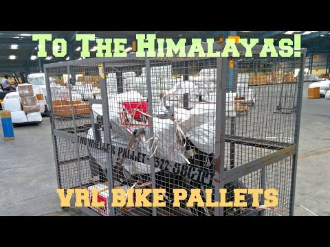 This Is How VRL Packs Your Bikes In Cage/pallet   Mountains Are Calling...