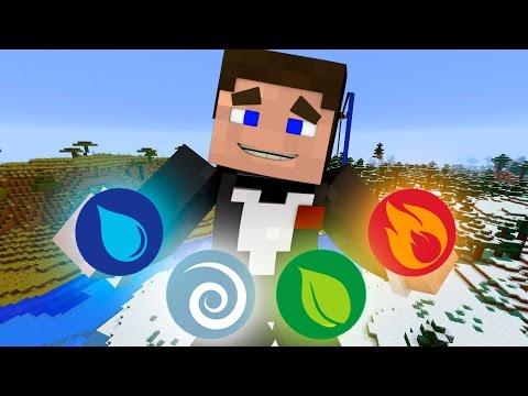 Прохождение карт Minecraft: ЧЕТЫРЕ ЭЛЕМЕНТА!