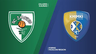 Zalgiris Kaunas - Khimki Moscow Region Highlights | EuroLeague, RS Round 18