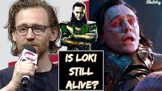 Avengers 4: Endgame - Tom Hiddleston About Loki Post Avengers: Infinity War