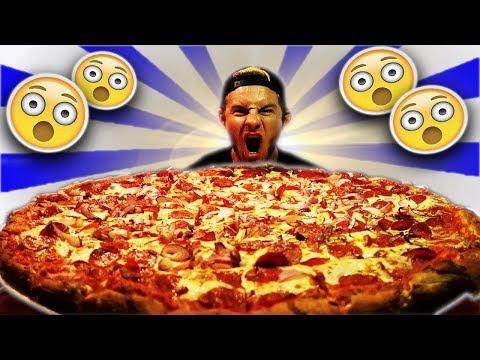 THE BIG A$$ TEXAS PIZZA CHALLENGE! (16,000+ CALORIES)