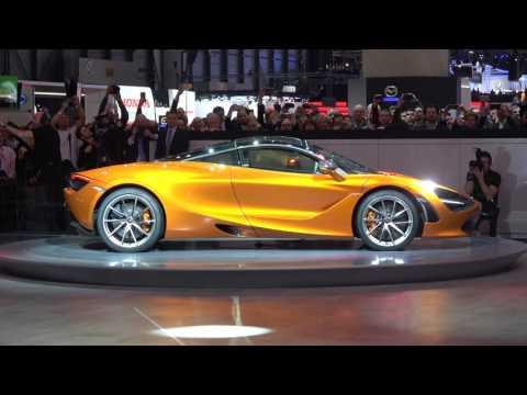 [4k] McLaren 720 PRESS CONFERENCE in Ultra HD 4k Geneva 2017