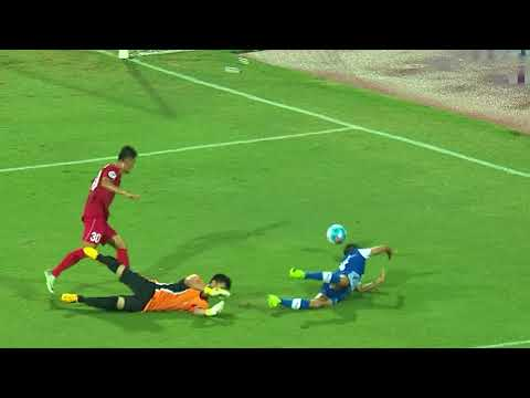 Sunil Chhetri opens the scoring with a Panenka penalty!