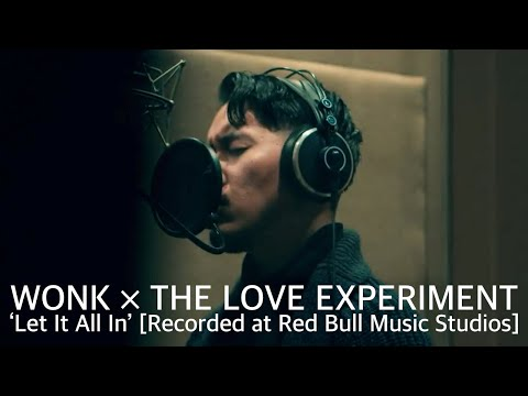 "WONK × THE LOVE EXPERIMENT – ""Let It All In"" [Recorded at Red Bull Music Studios]"