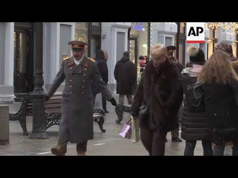 Police visit Moscow movie theatre showing banned Stalin film