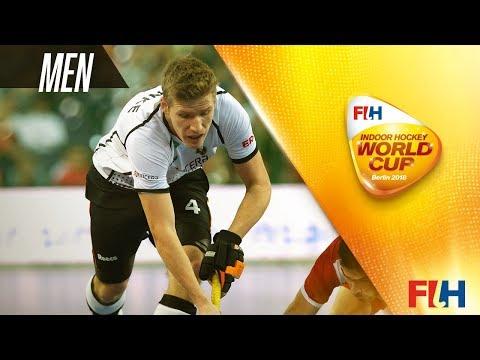 Austria v Poland - Indoor Hockey World Cup - Men's Quarter Final