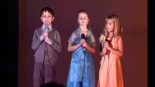 Праздник Золотая осень. Школа 1224, Москва 9 дек 2009 г.