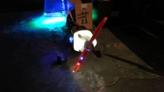 iluminated propeller
