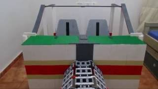 lego sand car - upper chassis