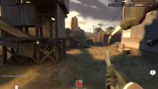 Team Fortress 2 - 2007 Spy Gameplay (Old Backstab)