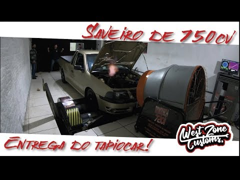 SAVEIRO DE RUA 750CV ! E ENTREGA DO TAPIOCAR