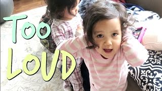 TOO LOUD MOMMY! - March 28, 2017 -  ItsJudysLife Vlogs