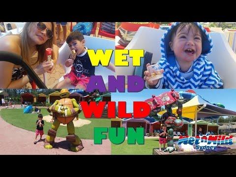 Wet N Wild Waterpark Sydney- Weekend Fun Captured with GoPro