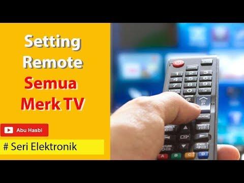 CARA SETTING REMOTE TV UNIVERSAL DAN KODE REMOTENYA (KODE TV BISA DILIHAT DI DESKRIPSI VIDEO INI)
