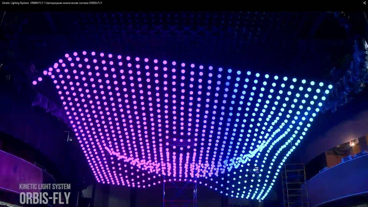 diy kinetic light sculpture