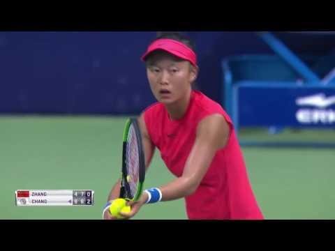 Zhang Shuai vs Chang Kai-Chen R1 Nanchang 2017