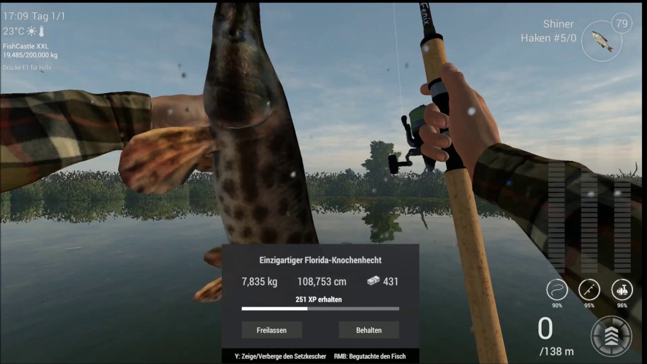 Fishing planet florida everglades unique florida gar for Fishing planet ps4