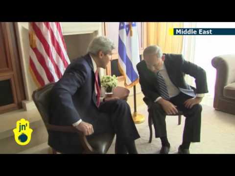 Israeli-Palestinian Peace Talks: US Secretary of State John Kerry urges Israeli settlement limit