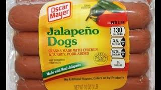 Oscar Mayer: Jalapeno Dogs Review