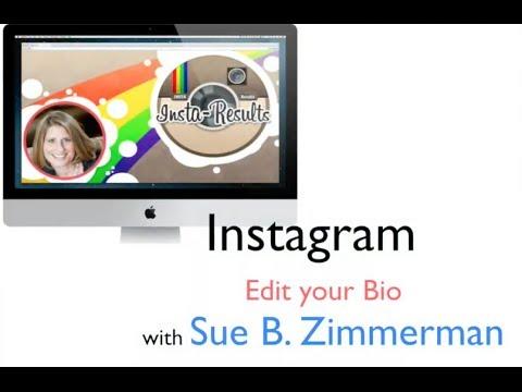 How to Edit Your Instagram Bio