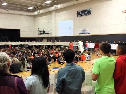 Simchat Torah at The McGillis School, October 17, 2014