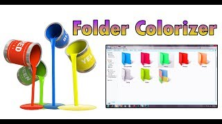 How to change computer folder color in Windows 7,8,10