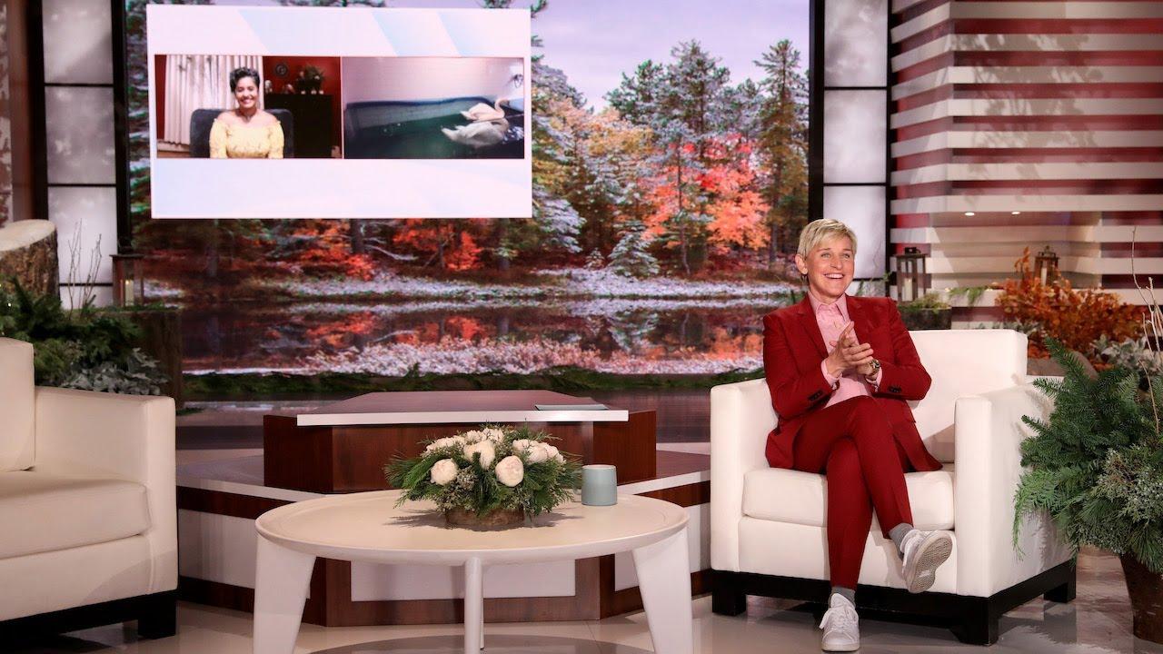 Ellen Meets Determined Swan Rescuer
