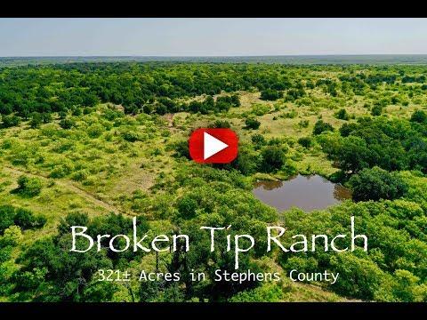 321 Acres FOR SALE: Broken Tip Ranch In Breckenridge, Tx