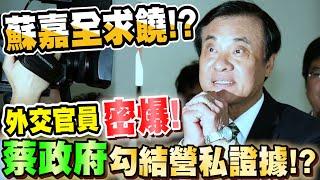 有人看不下去了良心外交官員匿名指出蘇嘉全、蘇震清疑勾結營私證據Secrets of Taiwan's Ministry of Foreign Affairs revealed比特王出任務