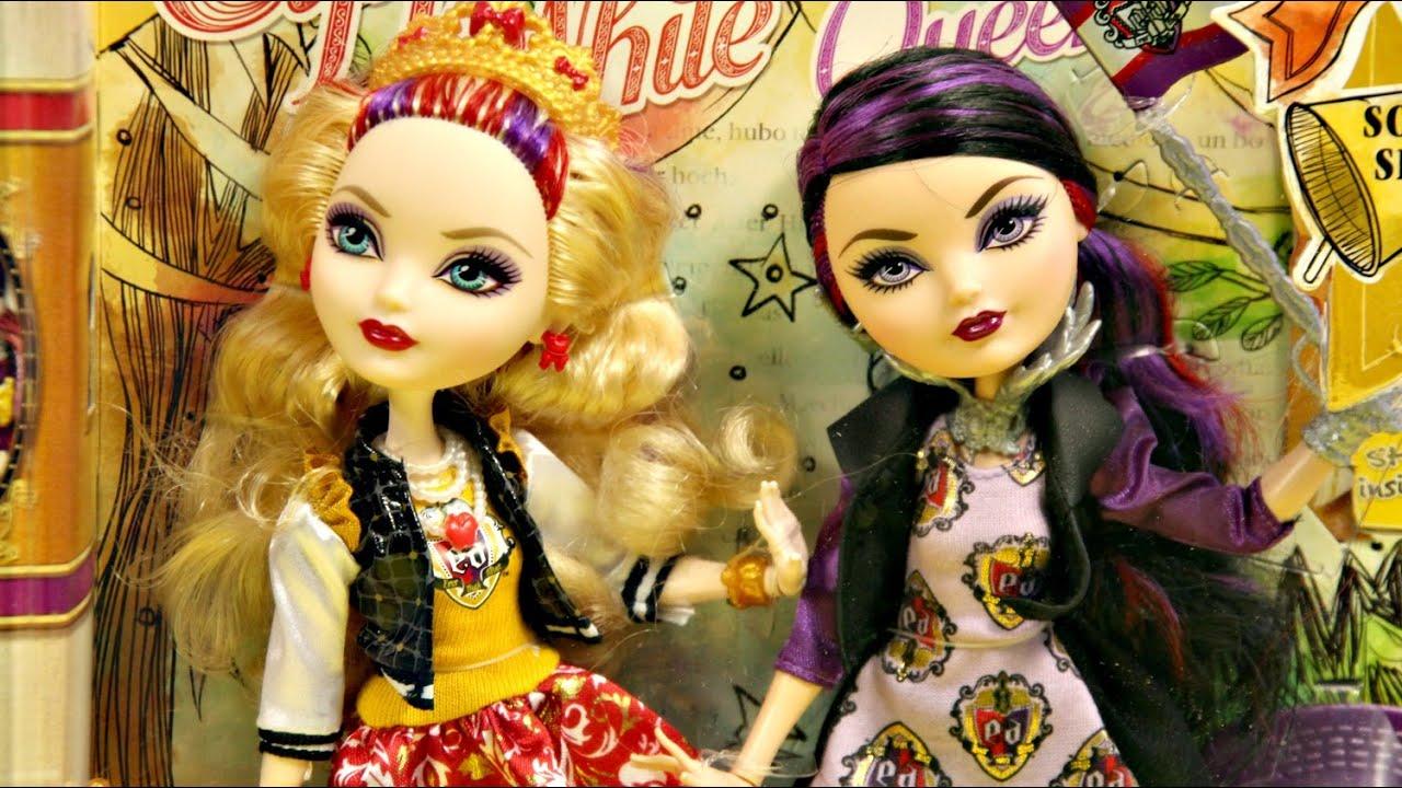 Apple White & Raven Queen - School Spirit - Ever After ...