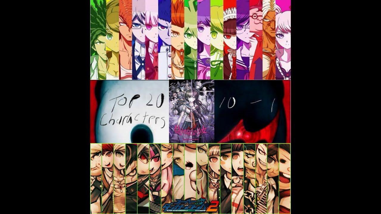 Danganronpa The Animation Wallpaper Top 20 Danganronpa Characters 10 1 Spoilers Youtube
