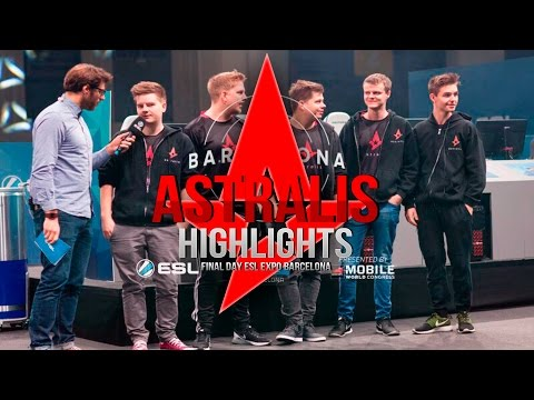 Astralis - highlights at ESL Expo Barcelona final