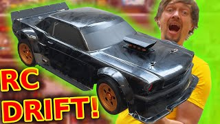 the GIANT RC Drift Car everyone is talking about