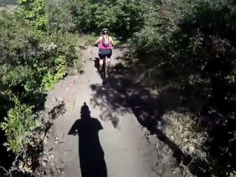 Corner Canyon - Rush Trail - Corner Canyon Draper, UT - Audrey's run - MTB - July 2012