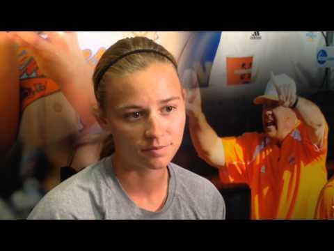 Lady Vol Megan Geer on softball Super Regional against Florida State