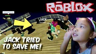Roblox-Titanic! Eu tentei segurar até o fim!