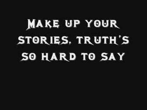 Megadeth Liar With Lyrics
