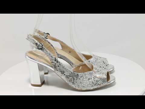 Caprice 9-28304-28 бял-сребро